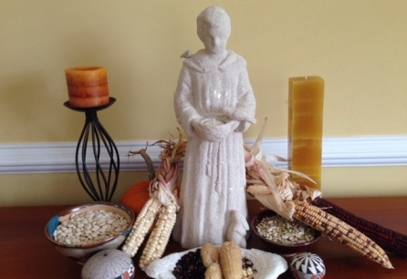 St. Francis and seeds