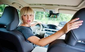 driving backwards